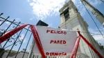 Sismo en Ica: recién el miércoles se iniciarán las obras en la catedral - Noticias de jose aparcana