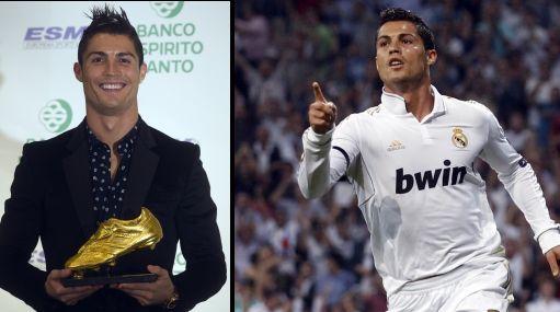 "Cristiano: ""Cambiaría la Bota de Oro por la Liga o la Champions"""