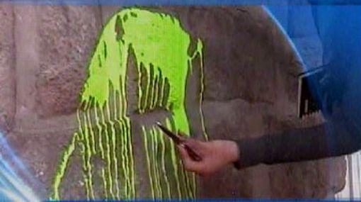 Cusco: muros incas al costado del Coricancha fueron dañados con pintura