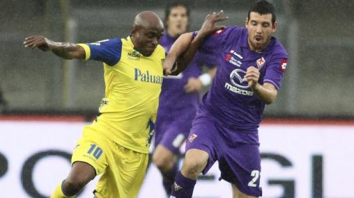 Sin toque peruano: Chievo Verona derrotó 1-0 a la Fiorentina
