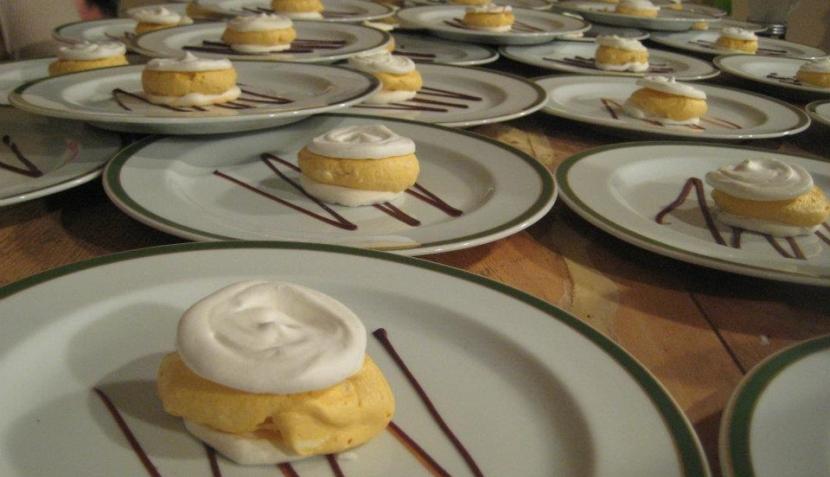 Participantes de Master Chef Perú prepararon la cena de un matrimonio
