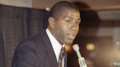 Hace 20 años 'Magic' Johnson anunció al mundo que portaba el VIH