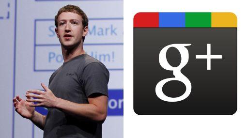 """Zuckerberg no se lleva bien con Google: """"Tratan de crear su pequeño Facebook"""""""