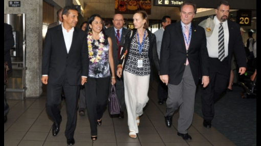 El presidente Humala ya está en Hawái para la XIX Cumbre de APEC