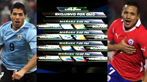 Eliminatorias Brasil 2014: estos son los partidos que se juegan hoy