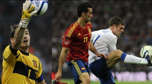 Iker Casillas es récord pero España perdió 1-0 ante Inglaterra