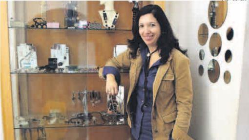 Carla Testino, la joyera que dejó lo seguro por un negocio propio