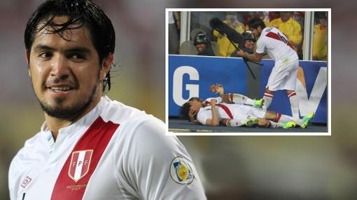 VIDEO: todas las locuras de Juan Manuel Vargas en la selección peruana