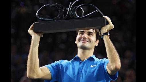 Federer logró su primer título en el Masters 1000 de París