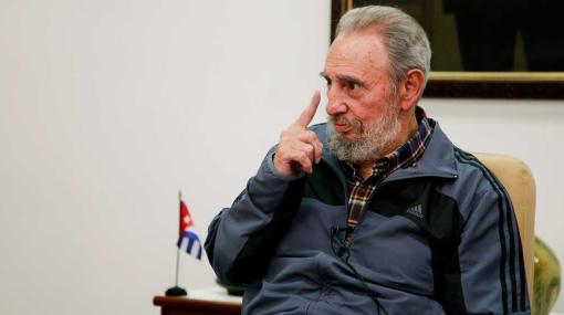 """Fidel Castro advierte que agresión a Irán desatará """"guerra sangrienta"""""""