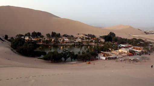 La erosión y la falta de agua secan la Huacachina | Ica | Sociedad ...