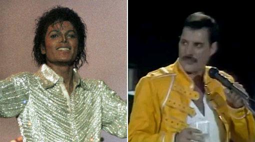 Duetos de Freddie Mercury y Michael Jackson serán publicados por Queen