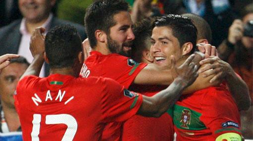 Portugal clasificó a la Eurocopa 2012 de la mano de Cristiano Ronaldo