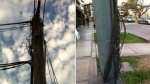 Peligrosa conexión de cables preocupa a vecinos de Chacarilla - Noticias de monte umbroso