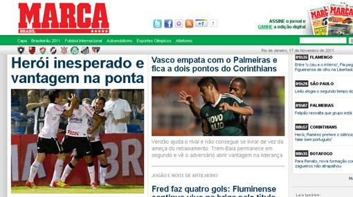 'Cachito' Ramírez es el héroe del Corinthians por golazo, dice prensa brasileña