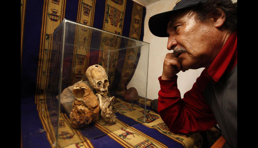 Momia de extraterrestre en Perú