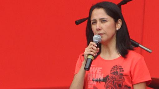 Nadine Heredia espera que dirigentes de Cajamarca entiendan llamado al diálogo