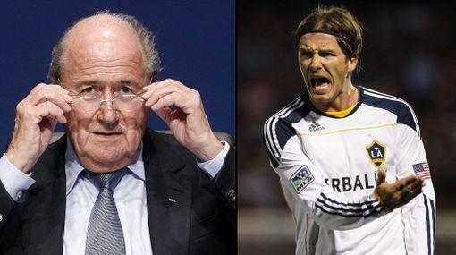 """Beckham: comentarios de Blatter sobre racismo """"son vergonzosos"""""""