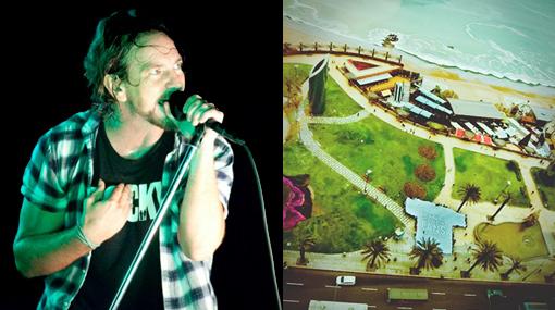 Pearl Jam compartió fotografía de su visita al Perú