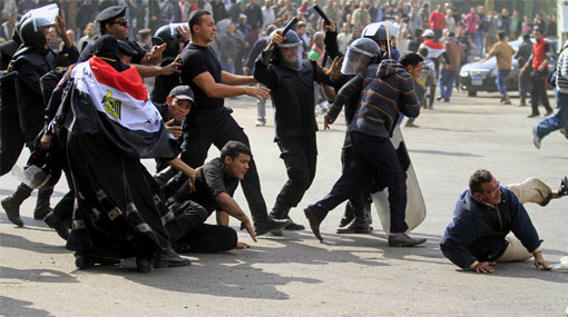 Protestas en Egipto: enfrentamientos con policías dejaron un muerto y más de 600 heridos