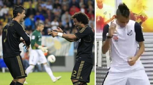 VIDEO: la canción que bailan CR7 y Neymar causa furor en el fútbol