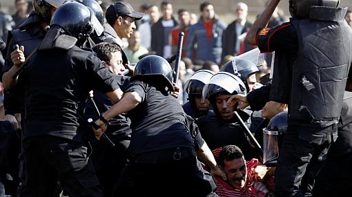 Protestas en Egipto dejan tres muertos y 750 heridos