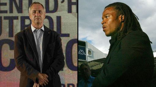 """Cruyff y su ataque racista a Edgar Davids: """"Estás en Ajax solo por ser negro"""""""
