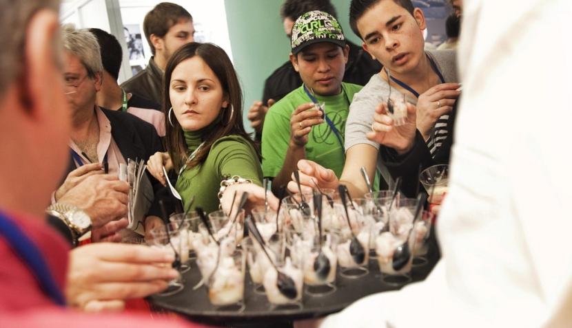 El sabor de Perú en la primera jornada del San Sebastián Gastronómika