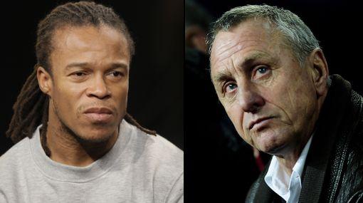 Cruyff negó haber dicho frases racistas contra Edgar Davids