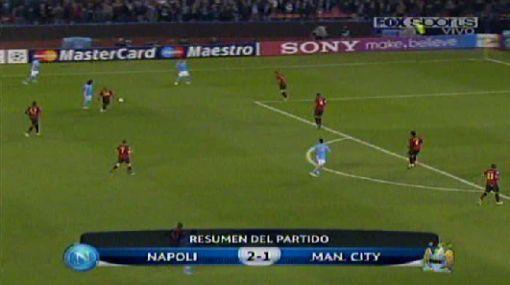 Napoli ganó 2-1 a Manchester City y se acerca a octavos en Champions
