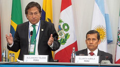 """Toledo: """"Si Humala militariza conflictos sociales retiraré mi apoyo"""""""