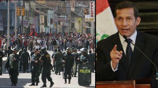 """Presidente Humala: """"Sí se puede tener el oro y el agua a la vez"""""""