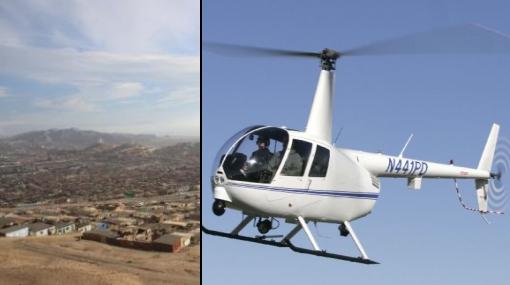 En Ventanilla anuncian compra de helicóptero para combatir delincuencia