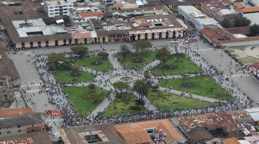 Actividad comercial empieza a regularizarse en Cajamarca