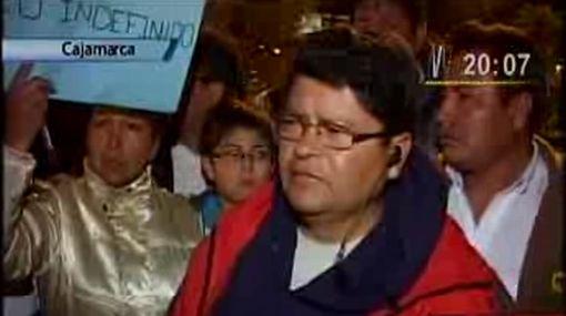 """Cajamarca: dirigente que informó sobre comunero """"asesinado"""" se disculpó"""