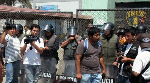 Motín en Trujillo acabó con el traslado de 46 presos al penal de Picsi