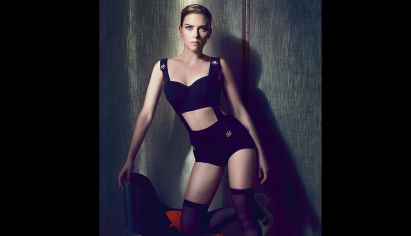 FOTOS: Scarlett Johansson posó sofisticada y sensual para revista