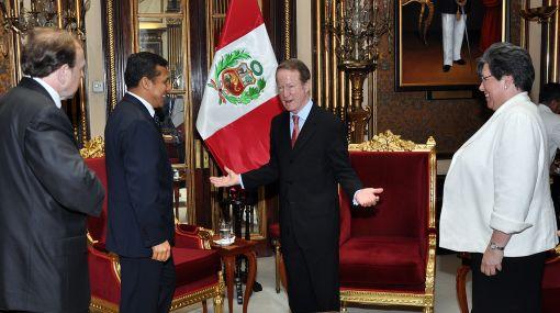 Presidente Humala se reunió con el zar antidrogas de los EE.UU.