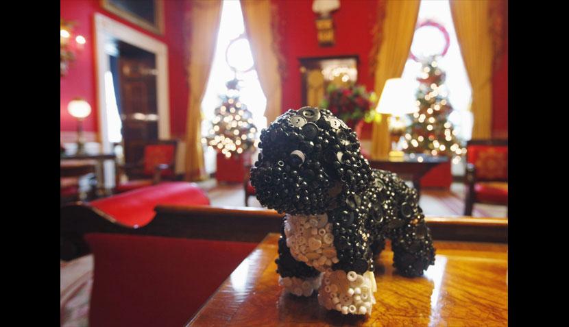 La familia Obama ya vive la Navidad en la Casa Blanca