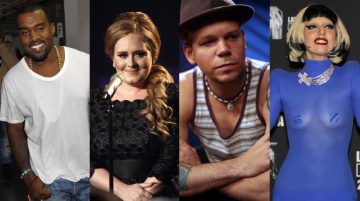 Conoce quiénes encabezan las nominaciones al Grammy 2012