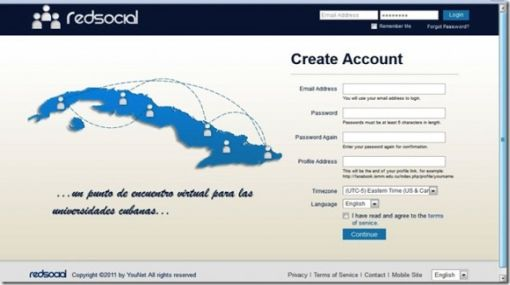 """Cuba lanzó su propio """"Facebook"""" pero solo para habitantes de la isla"""