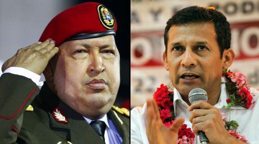 """Chávez apoyó a Humala: """"Presidente, lo comprendo, estamos con usted"""""""