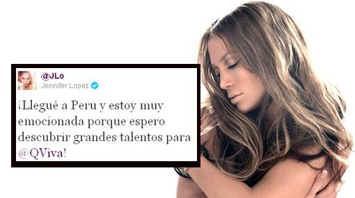 Jennifer López y su nuevo novio ya están en Lima