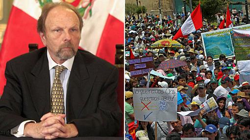 Salomón Lerner Ghitis inicia hoy diálogo en Cajamarca