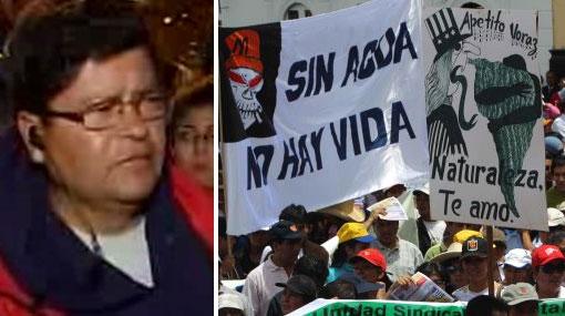 """Dirigentes cajamarquinos aceptaron diálogo: """"Nuestra lucha no es intransigente"""""""