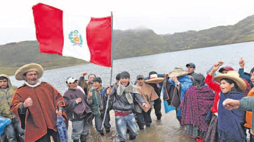 Más de 2 mil pobladores cajamarquinos cuidan laguna El Perol