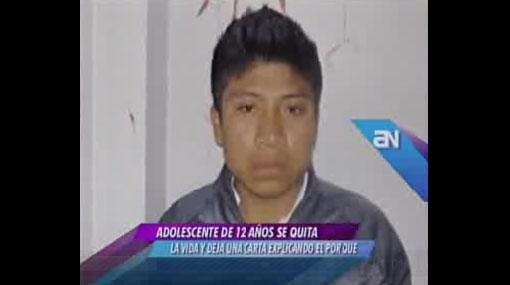Tío admitió violación a niña suicida que lo acusó