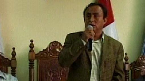 Gregorio Santos, el hombre de la encrucijada en Cajamarca