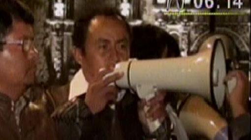 Gregorio Santos dice que Gobierno intentó obligarlo a firmar acuerdos