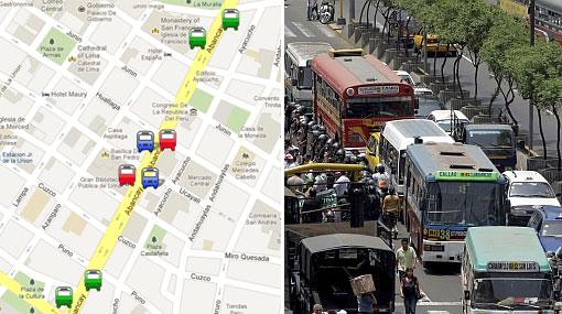 MAPA: estos son los nuevos paraderos de la avenida Abancay